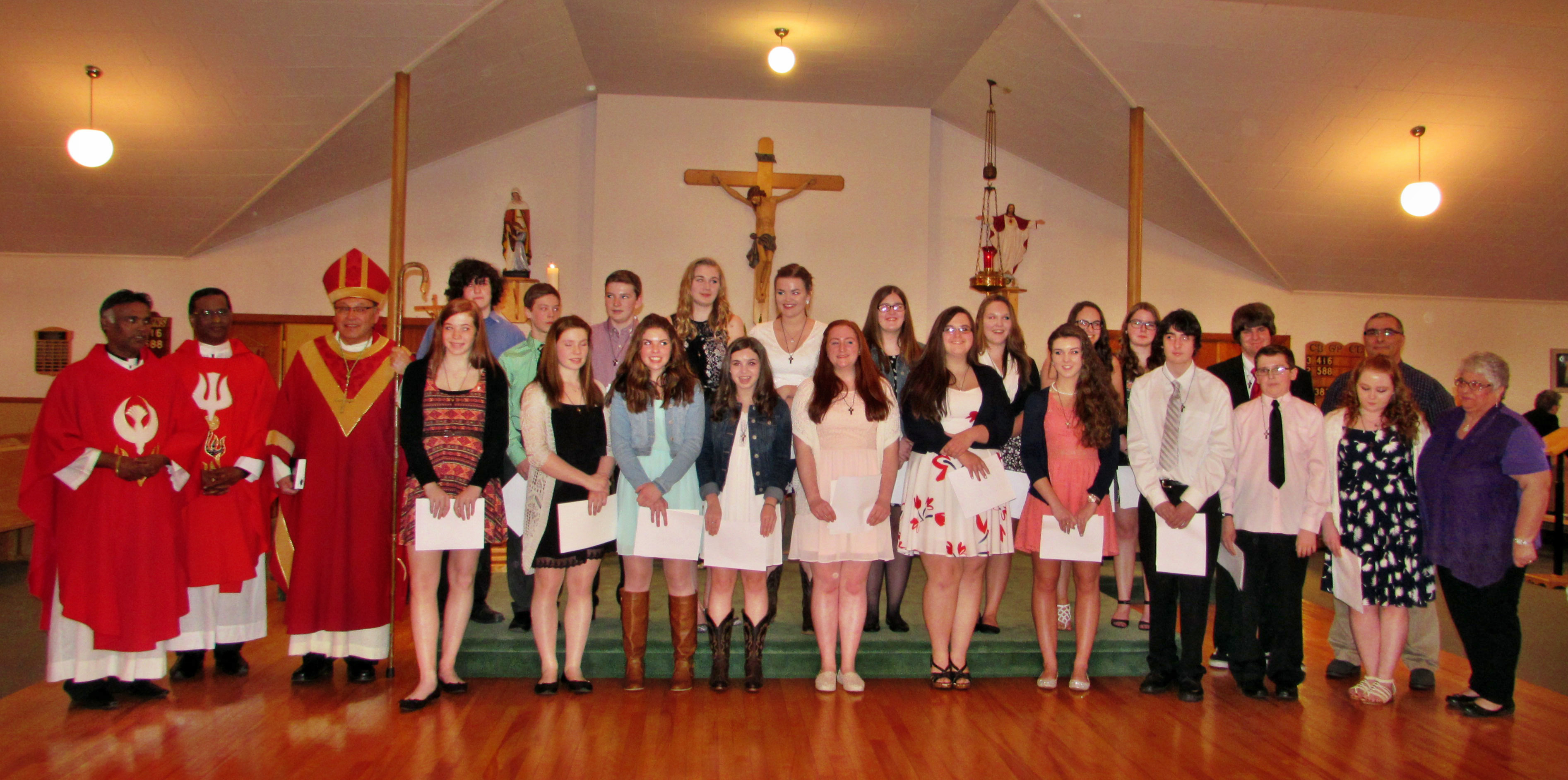 The 2016 Confirmation Class