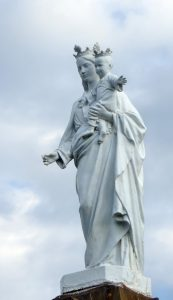 Statue of Our Lady of Mont Carmel