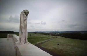 Vimy Memorial detail